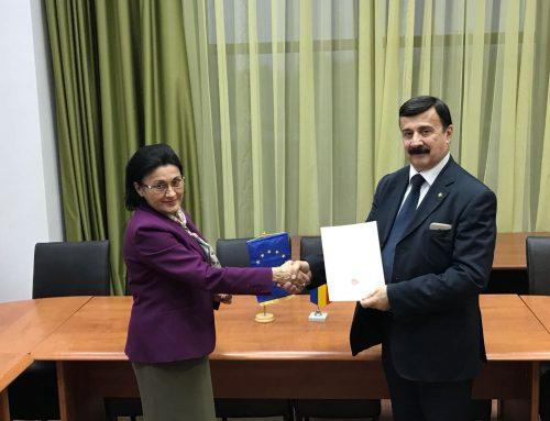 Senatrice Ecaterina Andronescu riceve nomina Accademico